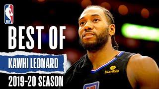 Best Of Kawhi Leonard | 2019-20 NBA Season