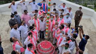 Telangana Liberation Day: Minister KTR hoists flag at Tela..