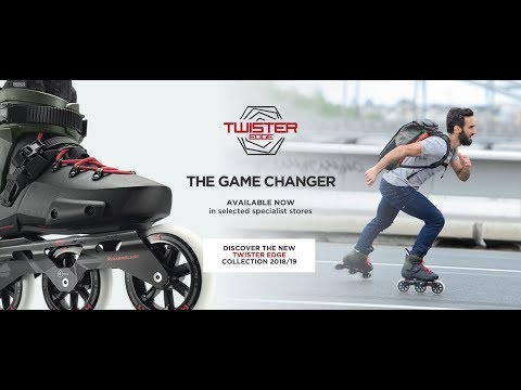Video ROLLERBLADE Roller freeskate TWISTER EDGE - 2019 Noir jaune