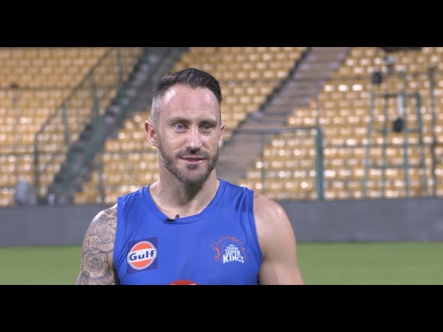 The Super Kings Show: Faf Du Plessis on the family of CSK