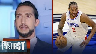 I'm a little annoyed with the ongoing Kawhi Leonard saga — Nick | NBA | FIRST THINGS FIRST