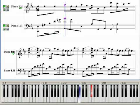 I Think I~ (Full House OST) ~ Music Piano Sheet