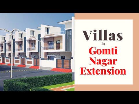 Villas in Lucknow Gomti Nagar Extension for sale