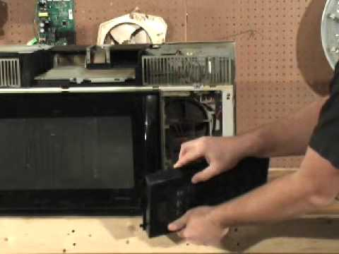 Ge Spacemaker Microwave Magnetron Tube Replacement Youtube