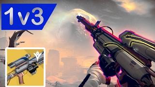 1v3 Trials against teabagger W/ Hereafter Exotic Sniper | Destiny