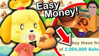EASY Ways to Make MILLIONS of Bells in Animal Crossing New Horizons! Money Making Guide