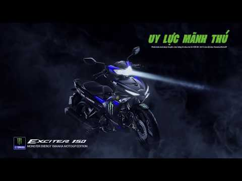 video Yamaha Exciter 150 Monster Energy MotoGP