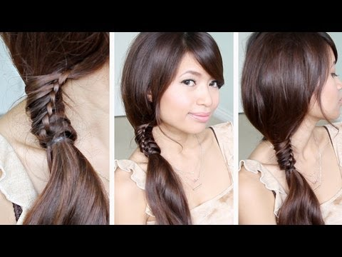 Awe Inspiring Back To School Hairstyles For Long Hair 4 Strand Ribbon Braids Short Hairstyles Gunalazisus