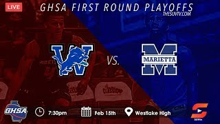 GHSA First Round Playoffs - Westlake vs. Marietta