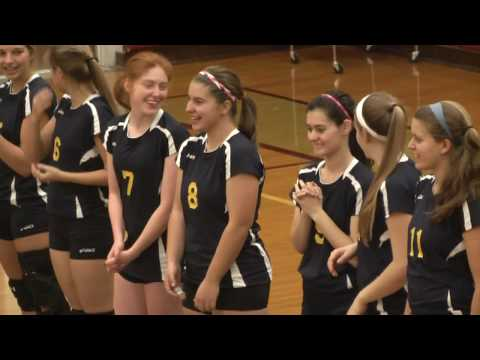 NCCS - Lake Placid Volleyball 10-21-13