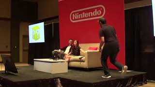 Pax West 2019 Nintendo Minute Panal with Kit and Krysta