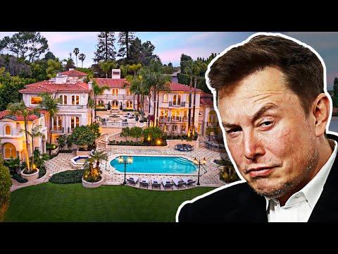 Колку домови има Илон Маск?