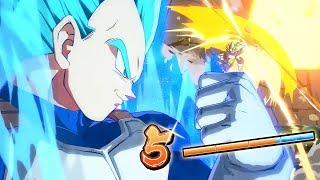 FINAL FLASH! | Dragonball FighterZ Ranked Matches
