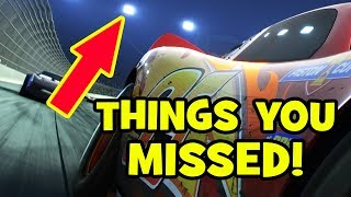 Cars 3 Trailer EASTER EGGS, Pixar Theory & Things You Missed