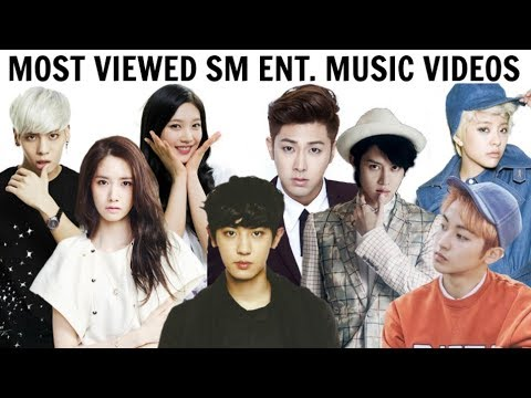 [TOP 100] Most Viewed SM ENTERTAINMENT Music Videos | Updated