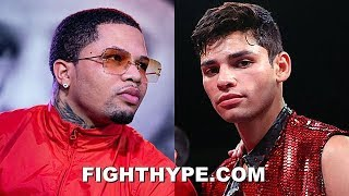 RYAN GARCIA & GERVONTA DAVIS WAR OF WORDS REIGNITES; FIRE SHOTS AT BRAINS AND GUTS