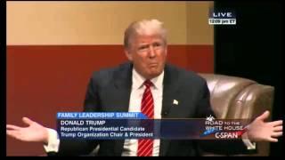 Donald Trump 2015 Family Leadership Summit FULL