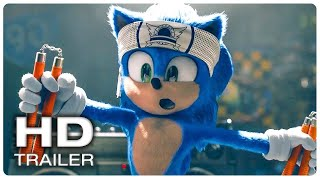 Sonic The Hedgehog 2020 New Official Trailer 3 Paramount Pictures