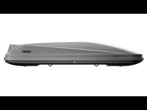 THULE Touring 600 (Sport) Roof Box in Black Glossy 300 Litre Capacity
