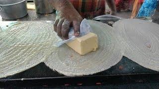 BIG BUTTER Dosa | INCREDIBLE Dosa Making Skills | Indian Street food