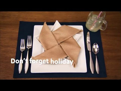 Patriotic Party Place-Setting