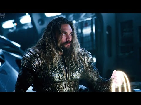 Aquaman and Lasso of Truth | Justice League