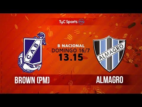 Guillermo Brown vs Almagro