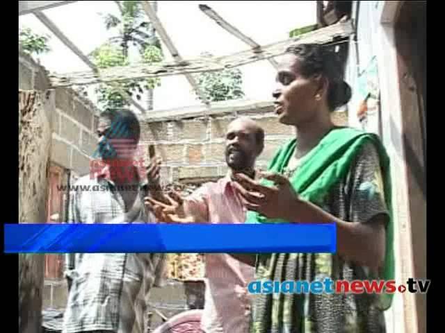 Huge Destruction By Heavy Rain and Wind: Pathanapuram, Kollam: കൊല്ലം പത്തനാപുരം