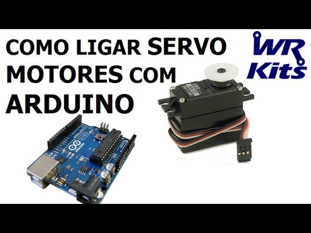 COMO LIGAR SERVO MOTORES COM ARDUINO | Fast Lesson #74