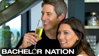 Becca's Whirlwind First Date With Arie! | The Bachelor US