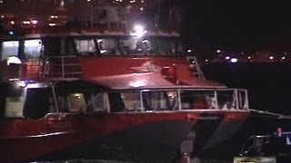 Hong Kong'da feribot kazası