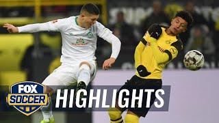 Borussia Dortmund vs. Werder Bremen | 2018-19 Bundesliga Highlights