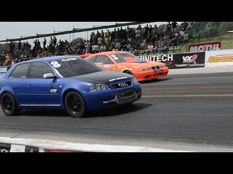 "AUDI S3 by 0-400 TUNE 2 RACE 8.806"" @ 254Km/h 