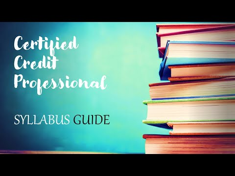 CCP - Certified Credit Professional Syllabus Priority Chapter wise and module wise