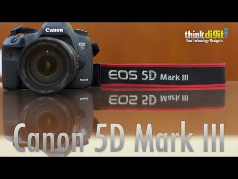 Canon EOS 5D Mark III Hands On Video
