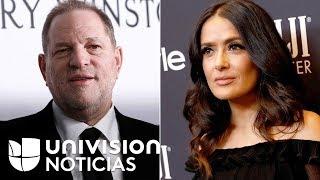 Harvey Weinstein rompe el silencio para desmentir las acusaciones de Salma Hayek sobre acoso sexual
