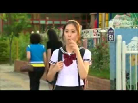 if..Kim Hyun Joong & Krystal in Mischievous kiss!