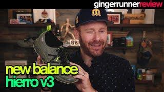 NEW BALANCE HIERRO v3 REVIEW | The Ginger Runner