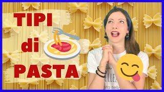 Tipi di PASTA ITALIANA più Famosi in Italia e nel Mondo! Impara le Abitudini Culinarie italiane! ❤️