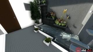 Ngôi Nhà Xinh - Mẫu thiết kế nhà phố hiện đại đẹp
