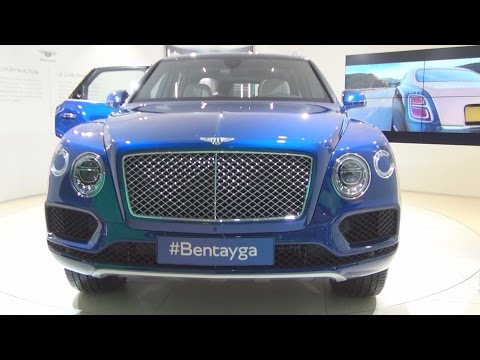 Bentley Bentayga (2016) Exterior and Interior in 3D