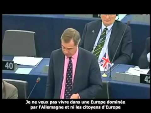 CENSURATO DA TUTTE LE TV ITALIANE ! Nigel Farage: Governi Fantoccio per Grecia e Italia