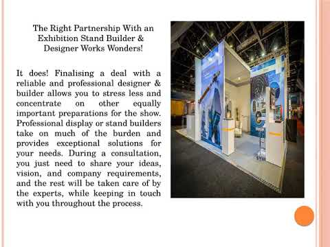 Custom Exhibition Stands – A Phenomenal Solution to Let Your Company Stand Out from Crowd