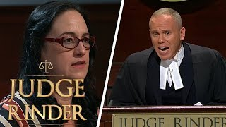 Furious Judge Rinder Kicks Fraud Out of Court | Judge Rinder