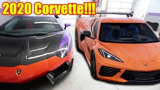 BUYING the NEW C8 Corvette!!