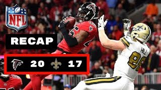 New Orleans Saints vs Atlanta Falcons Week 14 Thursday Night Football Recap | BREES BLOWS IT!