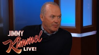 Jimmy Kimmel Tells Michael Keaton He Likes Spider-Man More Than Batman