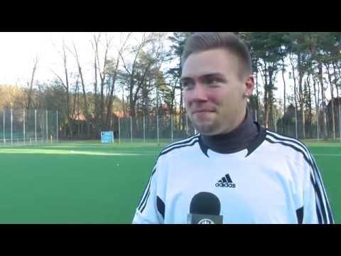 Henning Rühmann (FC Bergedorf 85) - Die Stimme zum Spiel (FC Bergedorf 85 - SC Condor U19, Freundschaftsspiel) | ELBKICK.TV