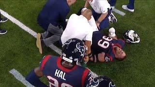 JJ Watt Season-Ending Knee Injury vs. Chiefs | NFL
