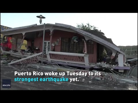 Second earthquake in Puerto Rico turns deadly